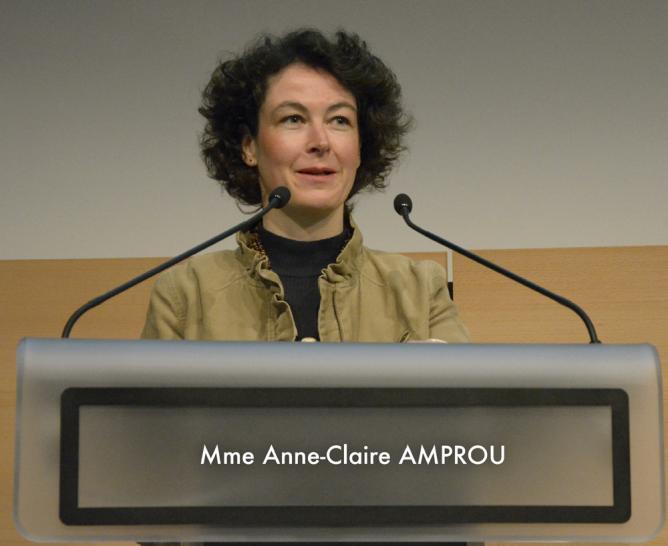 Madame Anne-Claire Amprou - DGS
