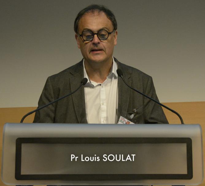 Professeur Louis Soulat - SAMU 35 - Administrateur d'ARLoD