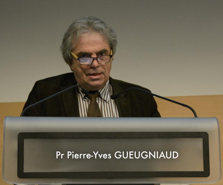 Professeur Pierre-Yves Gueugniaud - Registre RéAC