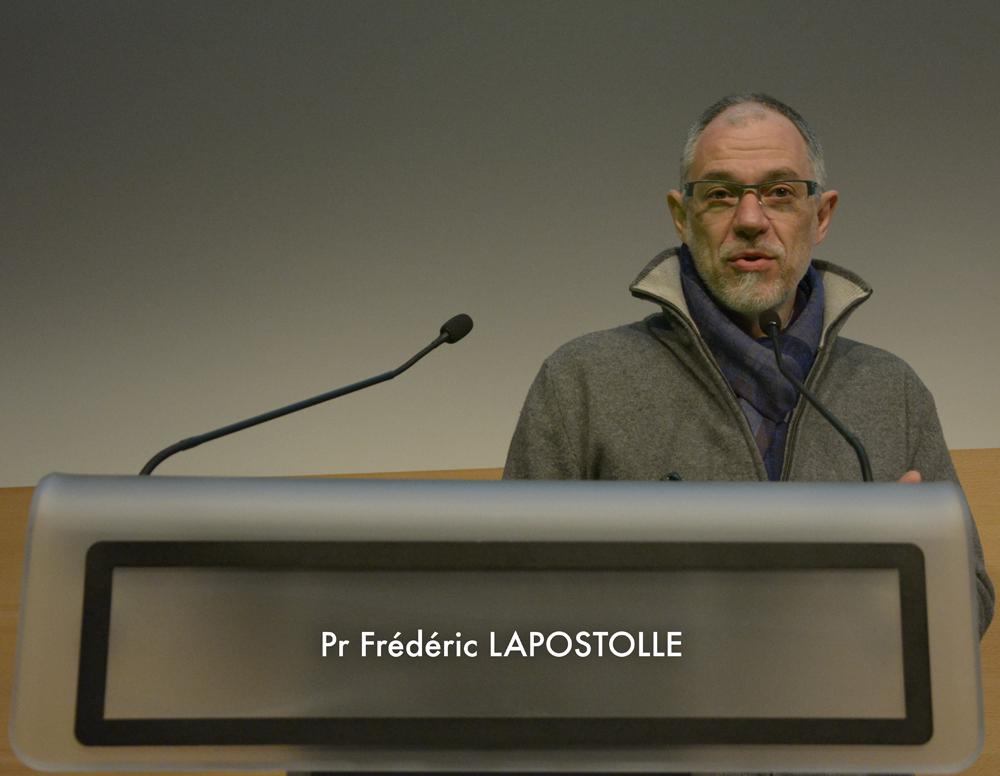 Professeur Frédéric Lapostolle - SAMU 93