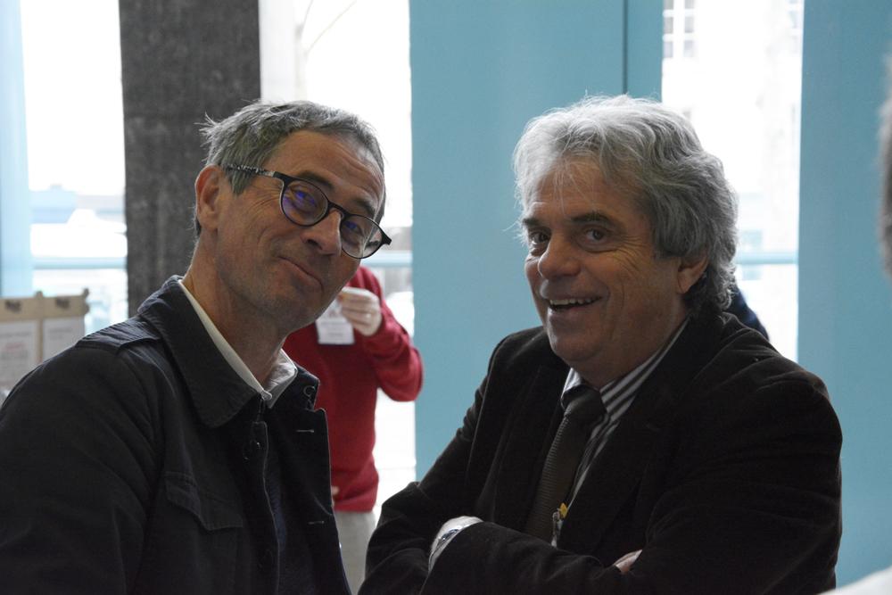 Pause café - Dominique Savary et Pierre-Yves Gueugniaud