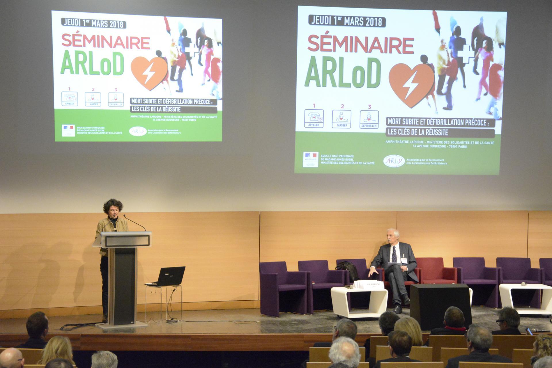 Madame Anne-Claire Amprou - DGS - Introduction du séminaire